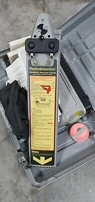 Radiodetection RD400SDTx transmitter, and RD400PXL PRECISION Locator Set