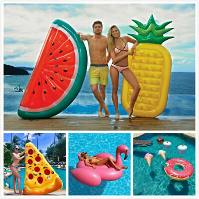 Giant Swimming Pool Floats / Inflatables & Fun Pineapple Ice Bucket!