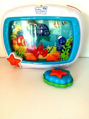 Baby Einstein Sea Dreams Soother Crib Toy Aquarium With Remote And Crib Strap