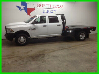 2018 Ram 3500 FREE DELIVERY Diesel Dually Aisin Crew Flat Bed Bl 2018 FREE DELIVERY Diesel Dually Aisin Crew Flat Bed Bl Used Turbo 6.7L I6 24V