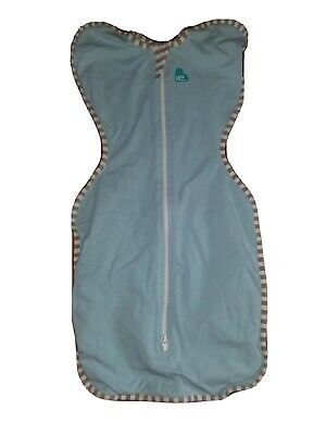 Love to Dream Swaddle up Light Blue Small Gently Used