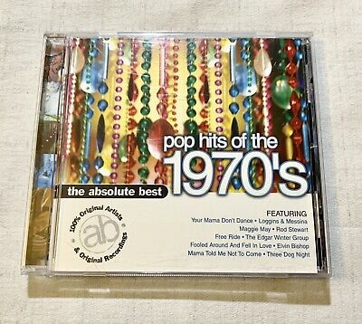 The Absolute Best Pop Hits of the 1970s CD 1999 Sony Various Artists Compilation