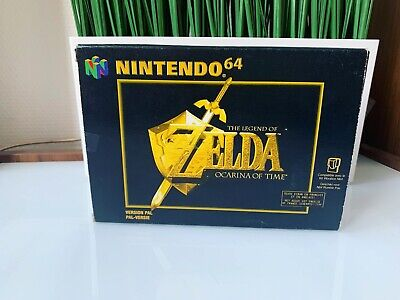 Jeu Zelda Ocarina Of Time Nintendo 64 PAL Ticket De Caisse 1998
