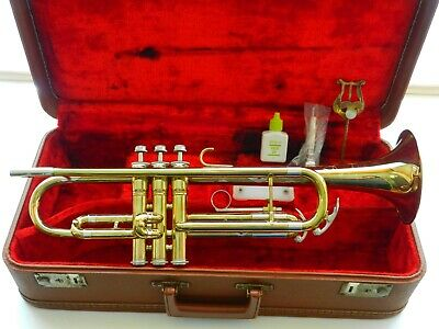 KING CLEVELAND 600 USA 1960s Student Trumpet - Smooth Valves - Beautiful Horn