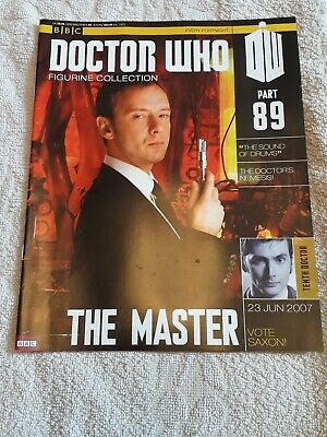 Dr Who Figurine Collection 89 Magazine