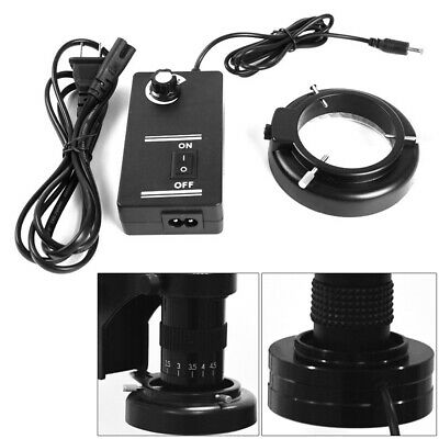 60-LED Adjustable Ring Light  Lamp Useful For STEREO ZOOM Microscope