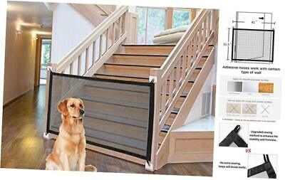 Magic Portable Kids And Pets Safety Door Guard Enclosure to Play and Rest New