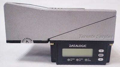 DATALOGIC DS6400-105-012, Ethernet, P/N: 931351107, Industrial Laser Scanner