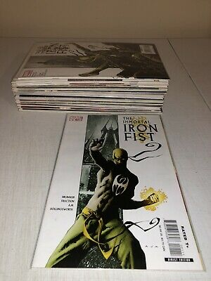 The Immortal Iron Fist #1-27 (Marvel/Annual/One Shots) Complete Set Of 31 Vf/Nm