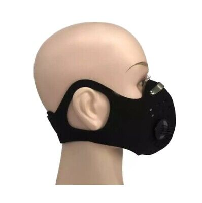 Reusable Breathing Sport Mask with 2 filters