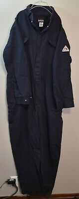 Bulwark Excel FR - Size 42 - Coverall - Flame Resistant - Navy - 12.2 APTV