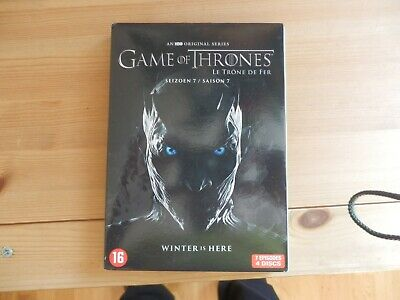 "Game of Thrones Staffel 7  4 DVDs/7 Episoden  1mal ""Beschaut""! TOP Zustand"