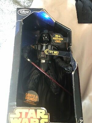 Star Wars collectable light and sound darth vader boxed