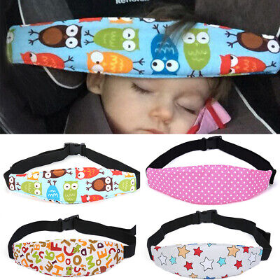 Baby Kid Head Neck Support Car Seat Belt Safety Headrest Pillow Protector