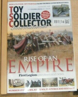 Toy Soldier Collector International magazine #94 Rise of an Empire First Legion