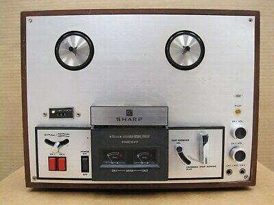Sharp  RD-712  4-Track Stereo Tape, Deck solid State.