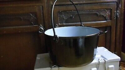 Vintage Cast Iron Antique Victorian Gypsy Cooking Pot