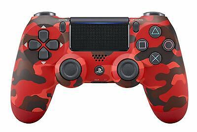PlayStation 4 Controller DualShock Wireless kabellos rot camouflage   OVP fehlt