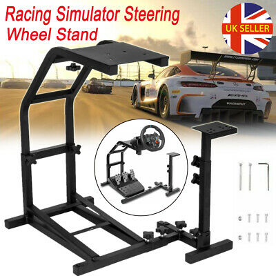 Racing Simulator Steering Wheel Stand Gaming For G25 G27 G29 G920 T300RS T80 UK