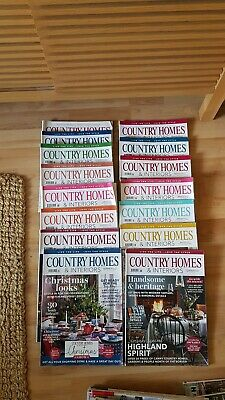 Country homes and interiors magazines