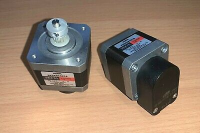 Pair of Vexta PK244PAR16 2-Phase Stepper Motors with 400 P/R, 2 Channel Encoders