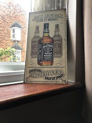 Jack Daniel's Whiskey Metal Sign Painted Poster Book Wall Decor Pub Shop Art*