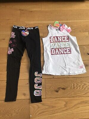 New JOJO Siwa Top & Leggings Dance Outfit 12-13 Y Primark