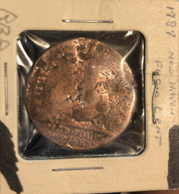 1787 Fugio Copper United States Colonial We Are One Coin