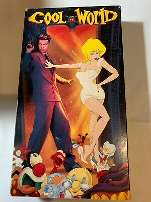 1992 Cool World movie .Used VHS Tape.