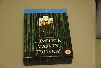 The Complete Matrix Trilogy Matrix 1-3 Blu-Ray Ton Englisch, French, Italian TOP