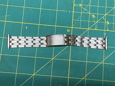 Vintage Seiko Mens Watch Band Stainless Steel