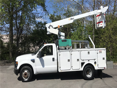 2008 Ford F-350 DRW Altec 35ft Bucket Truck Onan