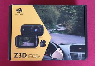 Z-Edge GPS Dashcam Dual Autokamera Ultra HD 1440P mit Rückkamera Full HD 1080P