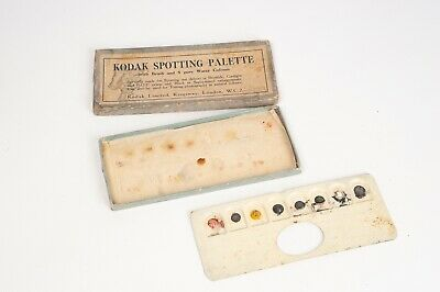 Kodak Spotting palette water colours for retouching very rare and old