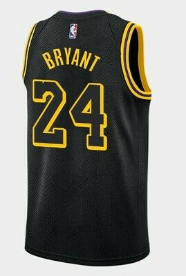 Canotta/Jersey Da Collezione-Basket Nba-Los Angeles Lakers-Kobe Bryant #24-Nera