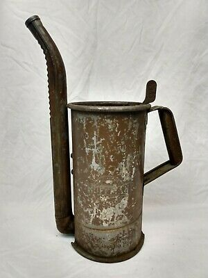 Vintage Huffman Self Piercing for Quart Oil Can Swing Spout Gas Station sign