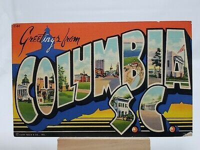 (PC) Greetings From Columbia, S.C.*Combined Shipping Available*