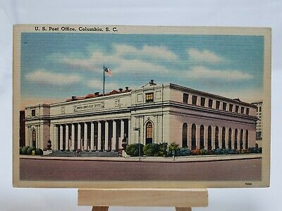 (PC) U. S. Post  Office, Columbia, S. C.*Combined Shipping Available*