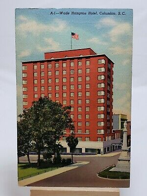 (PC) Wade Hampton Hotel, Columbia, S.C.*Combined Shipping Available*