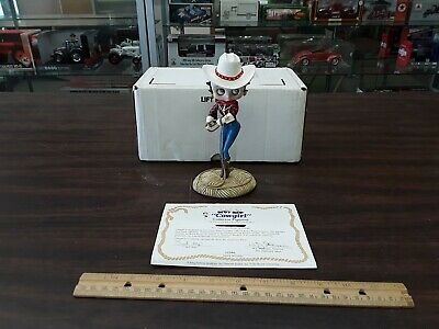 The Danbury Mint Betty Boop Cowgirl Collector Figurine With Box And COA