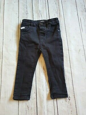 Baby Boy River Island Black Skinny jeans 18-24 Months 💙