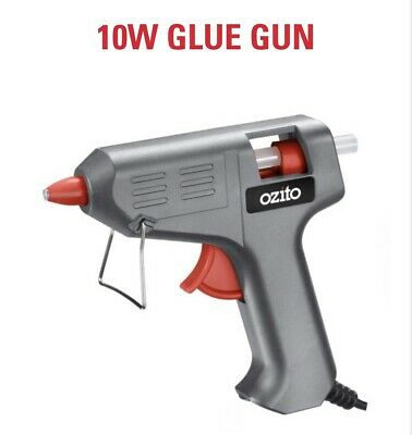 10W Small Adhesive Corded Glue Gun 100 x 7.5mm x 100mm Glue Sticks For Crafts
