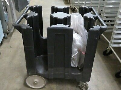 """Cambro DC1125 - Versa Dish Caddy, Black - Holds 11 1/4"""" Round or 9 1/2"""" Square"""