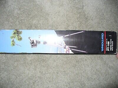 TRIPOD 2 way panhead, adj legs, new-in-box, 3 section, COLOR IS BRONZE