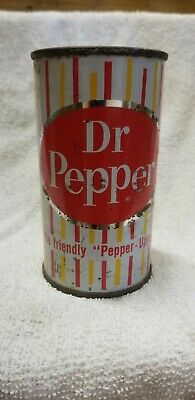 VERY RARE Dr. Pepper Flat Top Can