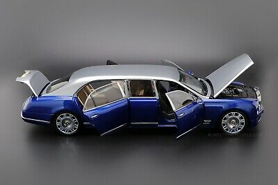 Almost Real Bentley Mulsanne Grand Limousine Car Model in 1:18 Scale Wine Red