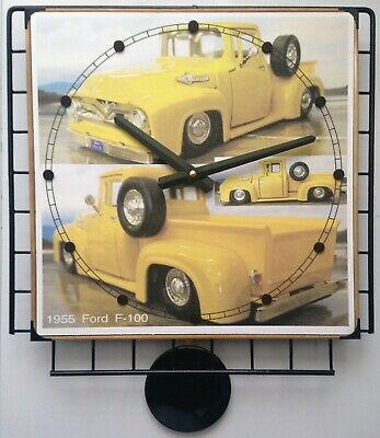 Photo Poster Pendulum Wall Clock with Your Favorite Photos