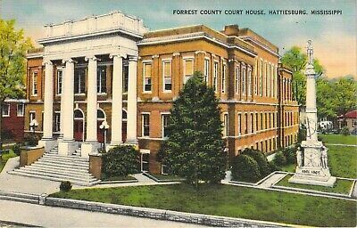 Forrest County Court House, Hattiesburg, Miss.