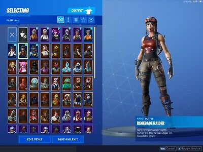 Fortnite RAFFLE | Renegade Raider  account