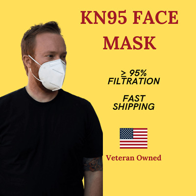 KN95 Disposable Protective PM2.5 Face Mask [5,10,20,50 PACKS] - USA SELLER